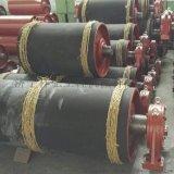 400機尾滾筒 電廠膠帶機滾筒 鑄膠機尾滾筒