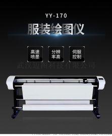 图睿TW-180高速静音喷墨绘图仪唛架机画皮机