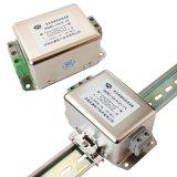 交流单相220V电源滤波器抗干扰端子台导轨安装新品