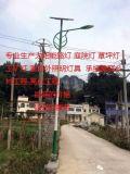 衡水市新农村项目6米太阳能路灯广场户外防水一体化智能LED路灯
