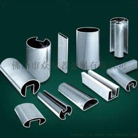 非标不锈钢凹槽管,不锈钢玻璃槽管,不锈钢卡槽管