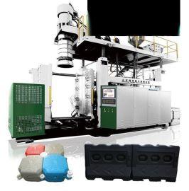 全自动中空吹塑机厂家价格生产水马围挡防撞桶加工设备机器生产线