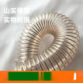 供应木工机械吸尘管,工业吸尘软管,pvc吸尘风管,pu塑料吸尘软管