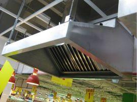 商洛不鏽鋼廚房煙罩/商洛不鏽鋼制作/尺寸可定做