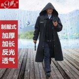 燕王雨衣 加长款制服雨衣 连体雨披徒步反光雨衣
