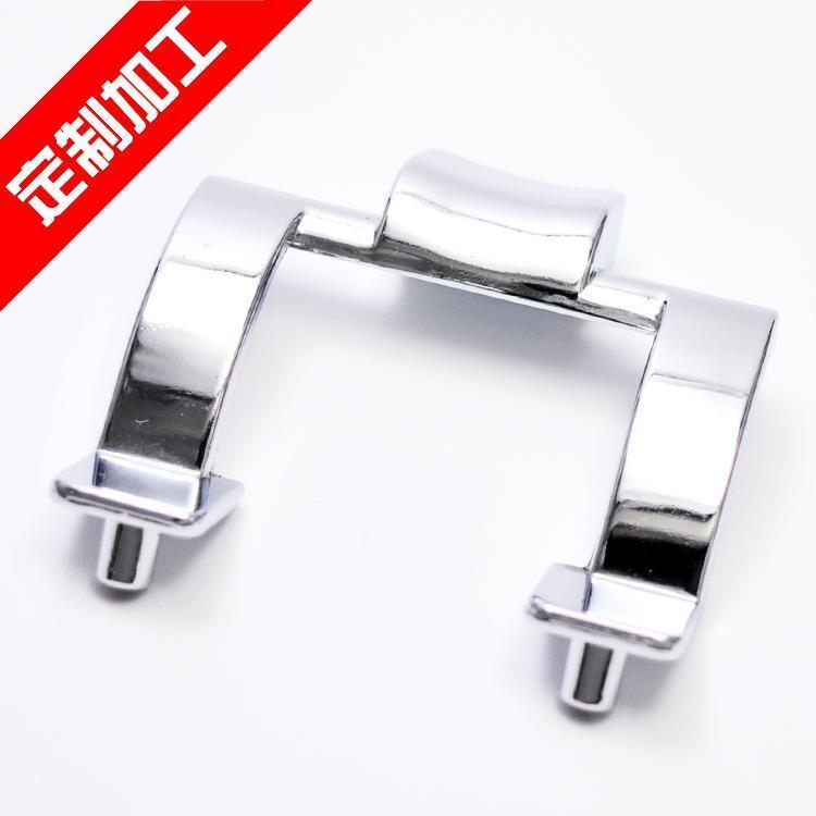 余姚压铸模具生产厂家供应高精度锌合金压铸件,锌合金门把手,表面电镀