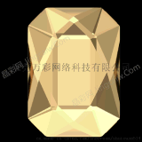 批發2602長方八角(日字)鑽環保施華洛世奇圓形流行水鑽