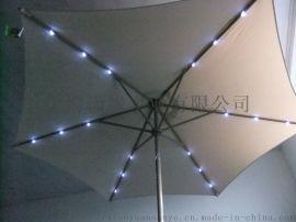LED户外庭院伞、太阳能发电伞