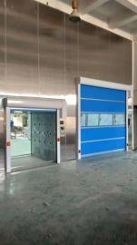 电动遥控翻板门垂直工业门