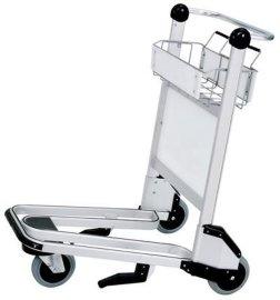 机场铝合金行李手推车 孝感瑞晟型号X320-LG2