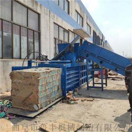北京120吨自动上料卧式液压打包机用途