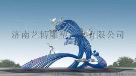 秦皇岛不锈钢园林雕塑厂家制造景观雕塑