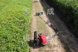 直銷背負式割草機小型汽油割草機農用收割機