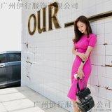 米梵张莉杭州九堡尾货服装批发市场 大码女装品牌折扣尾货棕色多种款式