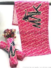 厂家订制数码印花巾 速干吸水毛巾 双面绒广告毛巾