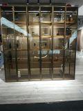 厂家定制中式金属酒柜不锈钢欧式红酒架