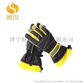 保暖手套特殊格子