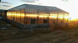 临沂雨棚专用透明双层阳光板