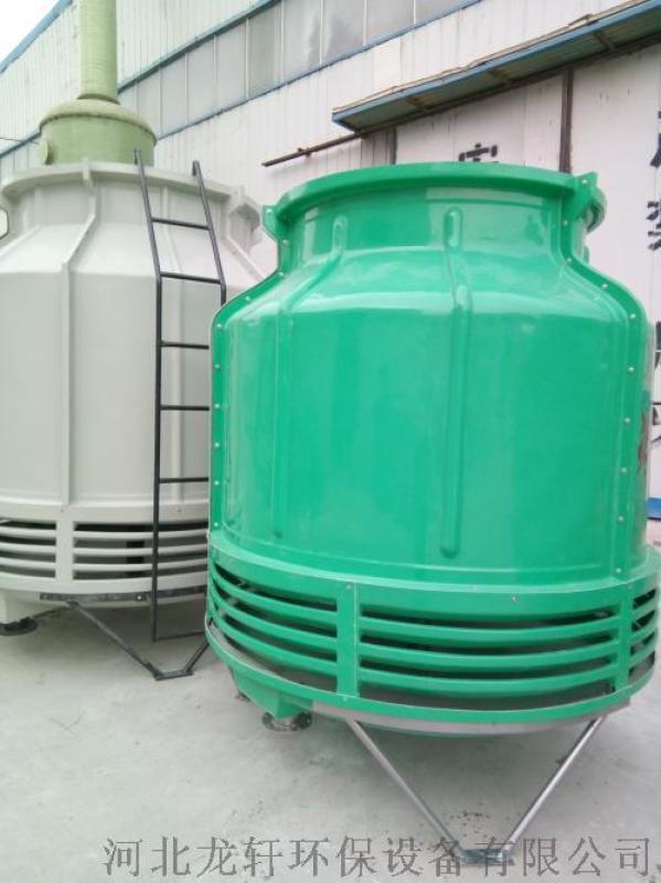 厂家直销机械通风玻璃钢冷却塔 圆形逆流冷却塔