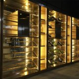 酒窖不锈钢酒柜,长沙餐厅红酒柜