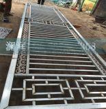 锌钢铁艺防护栏工地项目部围墙锌钢护栏直销锌钢隔离护来图可定做