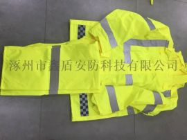 分体雨衣品牌 执勤雨衣 反光雨衣