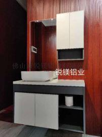 佛山新款现代全铝浴室柜衣柜橱柜定制 铝材批发