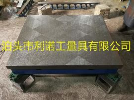 大连铸铁平台, 大理石平板精度保证