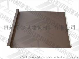 供应铜仁铝镁锰板矮立边屋面系统25-430厂家