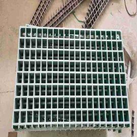玻璃钢模塑格栅 信阳树池拼接格栅特点
