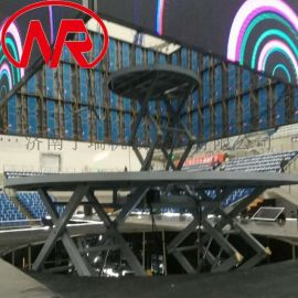 自动调整高度升降舞台 多人旋转升降舞台 升降机