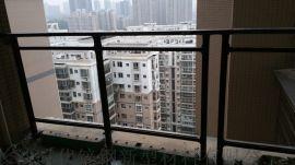长沙锌钢玻璃防护栏图