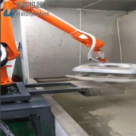国产品牌东莞海智喷涂机器人机械手