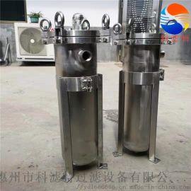 不锈钢袋式过滤器,强度大耐腐蚀、精度高、使用范围广