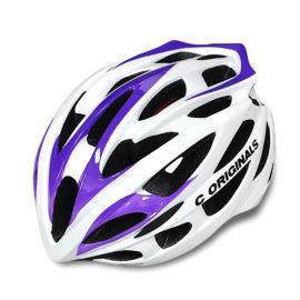 时尚轻便一体成型山地车公路车自行车单车骑行头盔