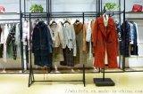 品牌女裝折扣貨源斐戈18年冬裝新款羽絨服大衣