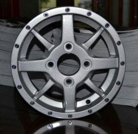 350-10小型电动四轮车铝合金车轮毂(A214-10275)