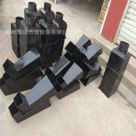 钢制接水斗 侧入式雨水斗落水斗 外墙排水管接水斗