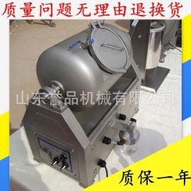 小型牙签肉真空滚揉机 食品级不锈钢变频调速真空滚揉机按需定制