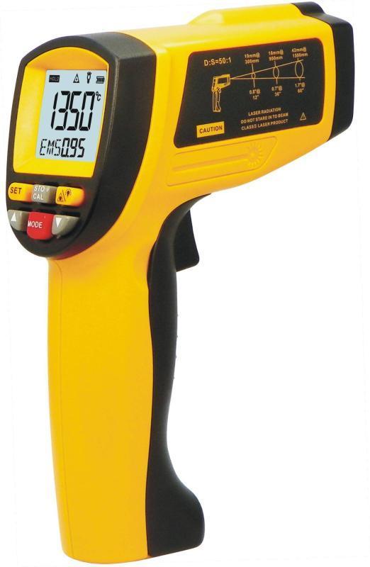 高溫型紅外測溫儀 鐵水紅外測溫儀GM1350