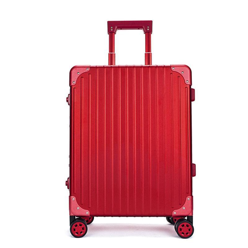 上海批发箱包定制**铝镁合金拉杆箱旅行箱全铝行李箱