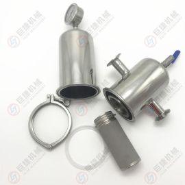钛棒滤芯-PE-钛棒过滤器 精密除菌过滤器型号
