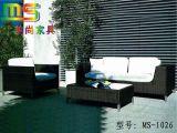 PE编藤花园组合沙发