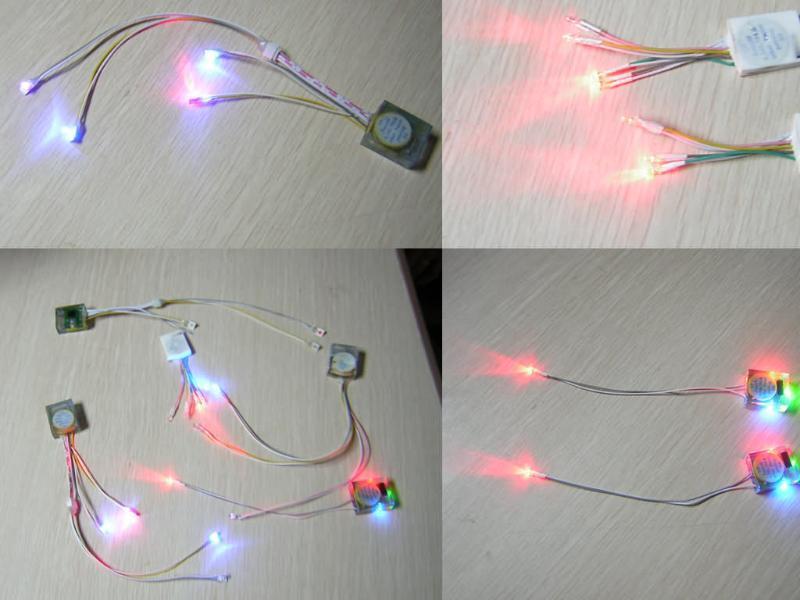 LED發光燈鞋燈串 迷你燈串
