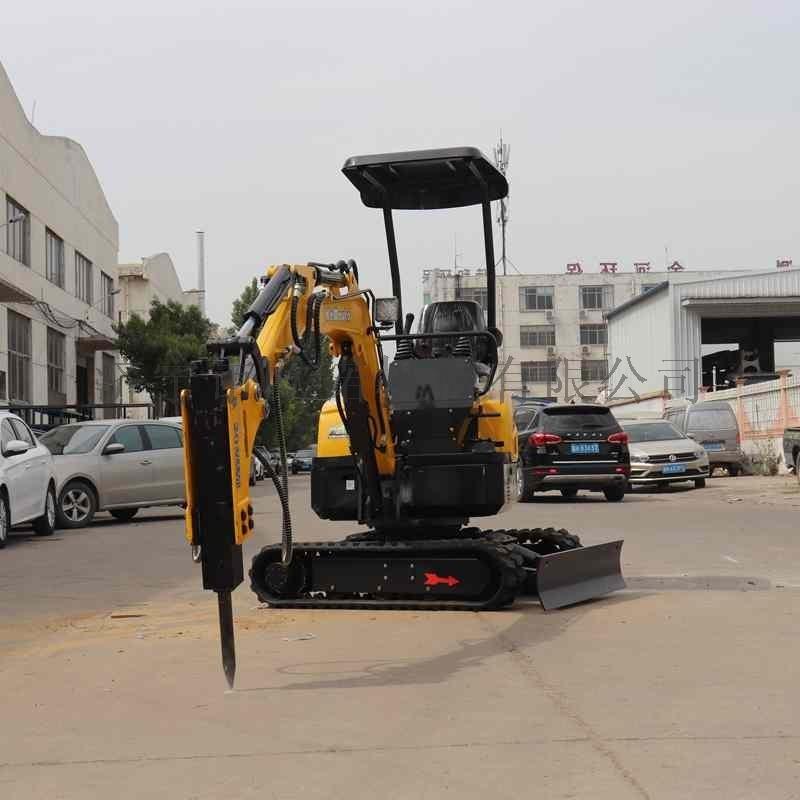 小型挖掘机厂家市政小型液压挖掘机家用柴油1吨小挖机