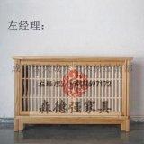 成都中式藥櫃定製,中醫館坐診臺楠木定製傢俱