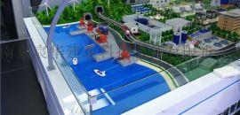 天然气净化**回收模型 风力发电厂沙盘透明模型