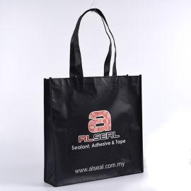 黑色覆膜无纺布袋手提袋礼品袋购物袋