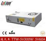 正品通天王5V60A开关电源 300W变压器 5V稳压电源 质保三年