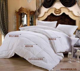 宾馆酒店加厚冬款羽丝绒被褥价格77元